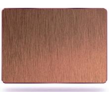 真空古铜金拉丝不锈钢板